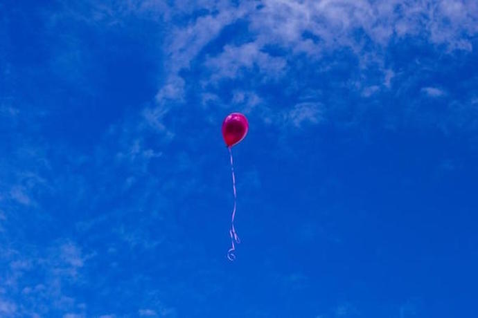 balloon floating in sky
