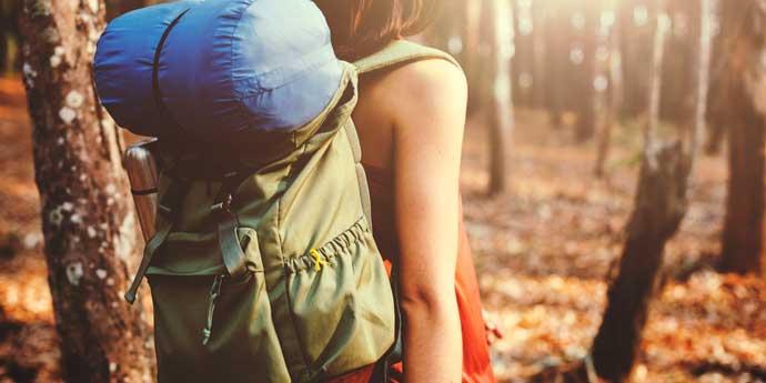active hiker