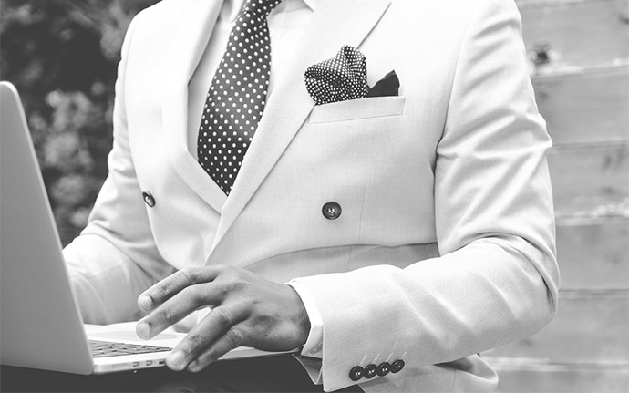 suited businessman